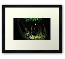 Dark Souls: Resting Hero Framed Print