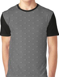 CMYK in B/W Graphic T-Shirt