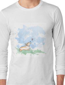 Corgi Frolic  Long Sleeve T-Shirt