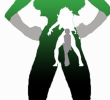 Sensational She-Hulk Silhouette Sticker
