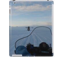 Snow Navigation iPad Case/Skin