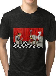 Twin Peaks Black Lodge  Tri-blend T-Shirt