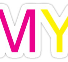 CMYK Sticker