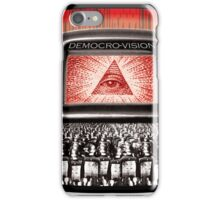 DEMOCRO-VISION iPhone Case/Skin