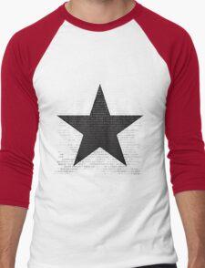 Bowie Tribute Men's Baseball ¾ T-Shirt