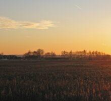 Sunset Norfolk Broads Sticker