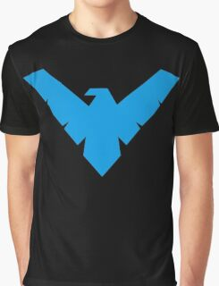 Blue Night wing Graphic T-Shirt