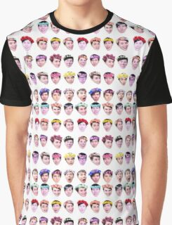 Dan and Phil- Flower Crowns Graphic T-Shirt