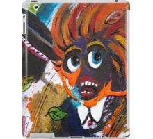 Caught Out On A Windy Day Section  iPad Case/Skin