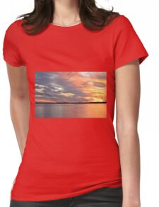 Sunset Magic Womens Fitted T-Shirt