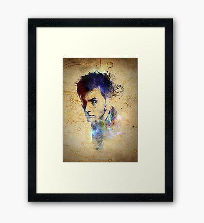 David Tennant - Doctor Who #10 Framed Print