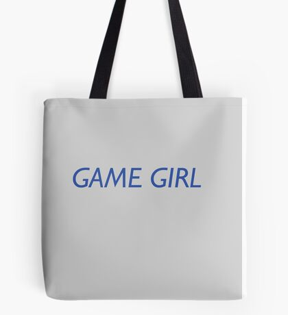 Game Girl Tote Bag