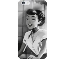 Audrey Hepburn - Roman Holiday (Anya Smith) iPhone Case/Skin