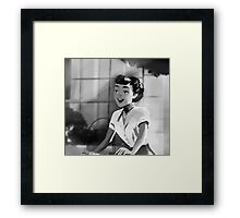 Audrey Hepburn - Roman Holiday (Anya Smith) Framed Print
