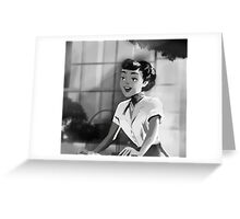 Audrey Hepburn - Roman Holiday (Anya Smith) Greeting Card
