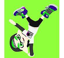 Splatoon - Inkling boy Green Photographic Print