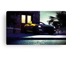 Mercedes Benz CLK AMG (Forza Horizon 2) Canvas Print