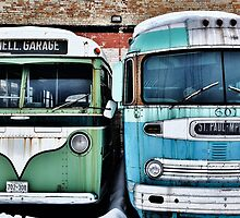 Old Buses 2 by Gypsykiss