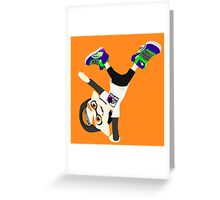 Splatoon - Inkling boy Orange Greeting Card