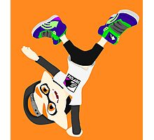 Splatoon - Inkling boy Orange Photographic Print