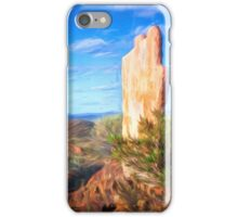 Outback sculpture iPhone Case/Skin