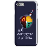 It´s dangerous to go alone iPhone Case/Skin