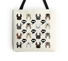 Different French Bulldogs!  Tote Bag