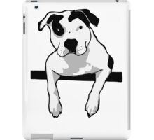 Pit Bull T-Bone Graphic  iPad Case/Skin