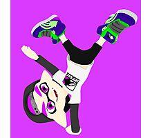 Splatoon - Inkling boy Purple Photographic Print