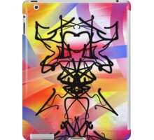Abstract Gremlin Design iPad Case/Skin