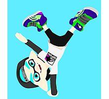 Splatoon - Inkling boy Cyan Photographic Print