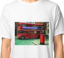 London by bus Classic T-Shirt
