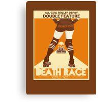 Death Race 2012 Canvas Print