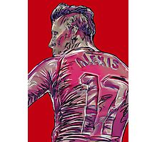 Alexis Sanchez Photographic Print