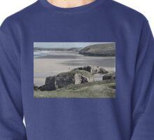 Perranporth Beach. Cornwall. UK Pullover