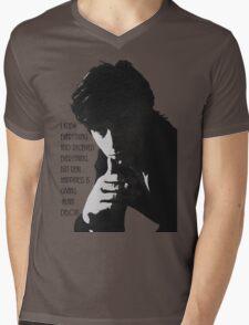 Alain Delon Mens V-Neck T-Shirt