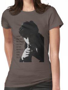 Alain Delon Womens Fitted T-Shirt