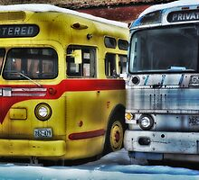 Old Buses 3 by Gypsykiss