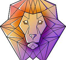Geometric Lion by kzenabi