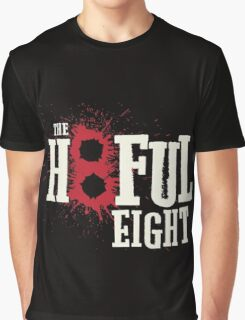 The Hateful Eight -H8ful Eight Graphic T-Shirt