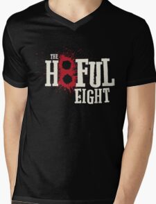 The Hateful Eight -H8ful Eight Mens V-Neck T-Shirt