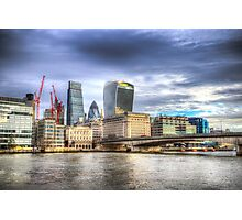 City of London and River Thames Photographic Print