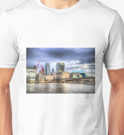 City of London and River Thames Unisex T-Shirt