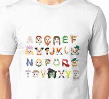 Oz-abet (an Oz Alphabet) - Landscape Unisex T-Shirt