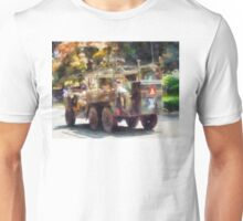 Army Truck in Parade Unisex T-Shirt