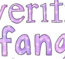 Fangirl Sticker