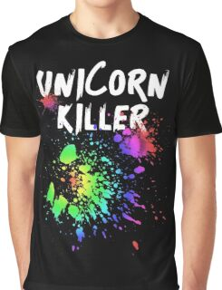 Unicorn Killer T Shirt Graphic T-Shirt