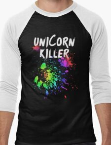 Unicorn Killer T Shirt Men's Baseball ¾ T-Shirt