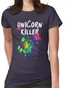 Unicorn Killer T Shirt Womens Fitted T-Shirt