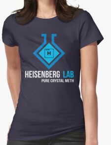 Heisenberg Lab Womens Fitted T-Shirt